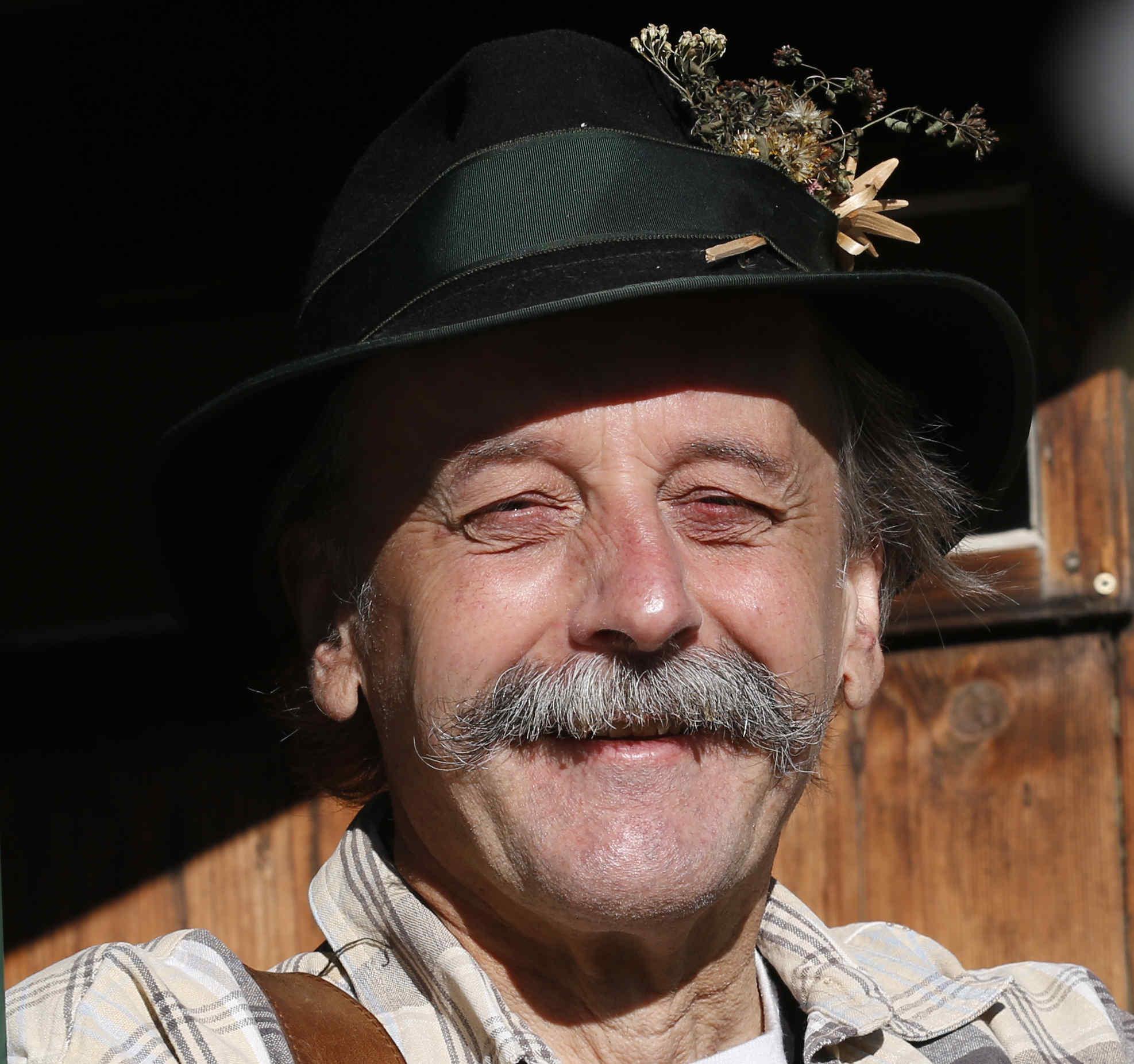 Helmut Wittmann Märchenerzähler Portrait