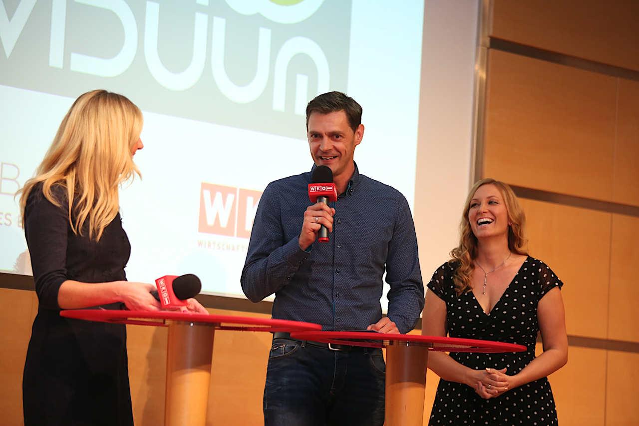 Anna und Markus im Interview mit Nina Kraft