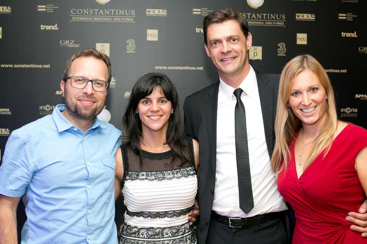 Team Innoviduum Gruppenfoto bei Constantinus Award 2018