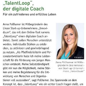 Unternehmerin TalentLoop der digitale Coach