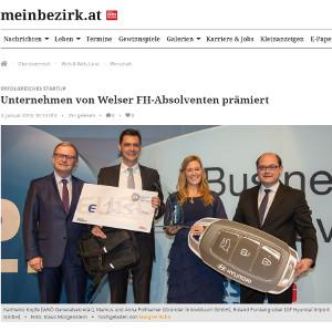Anna und Markus Pollhamer von Innoviduum bei i2b Award 2018